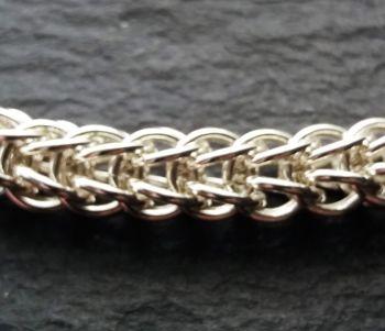 925 Sterling Silver Full Persian Bracelet