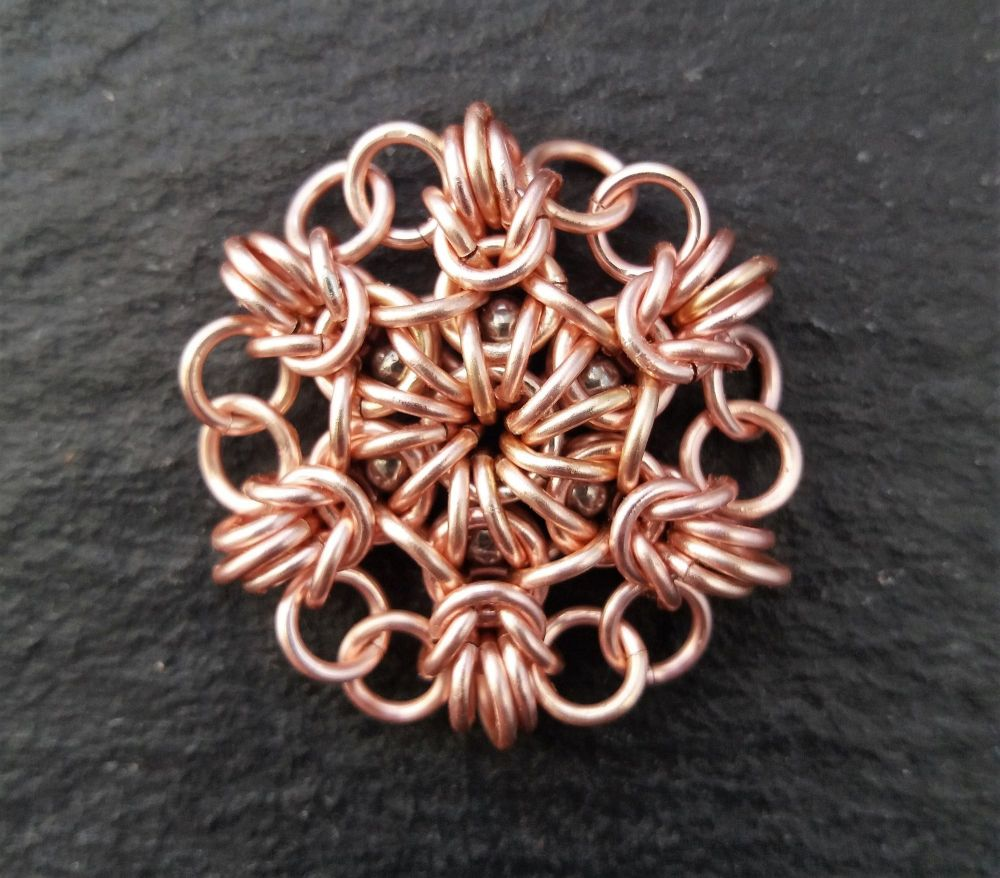 Captured Star Chainmaille Pendent Tutorial