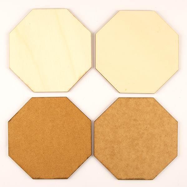 Wood Shapes MDF & Birch