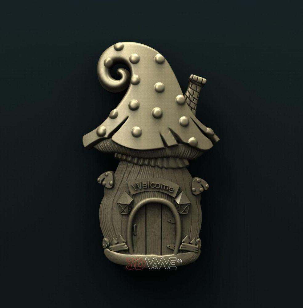 Fairy Door Mushroom