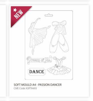 Soft Mould A4 - Passion dancer