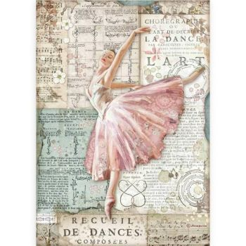 A4 Rice paper packed - Passion dancer