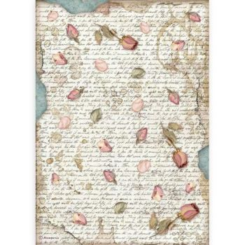 A4 Rice paper packed - Passion petals