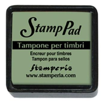 Small pigment pad emerald green