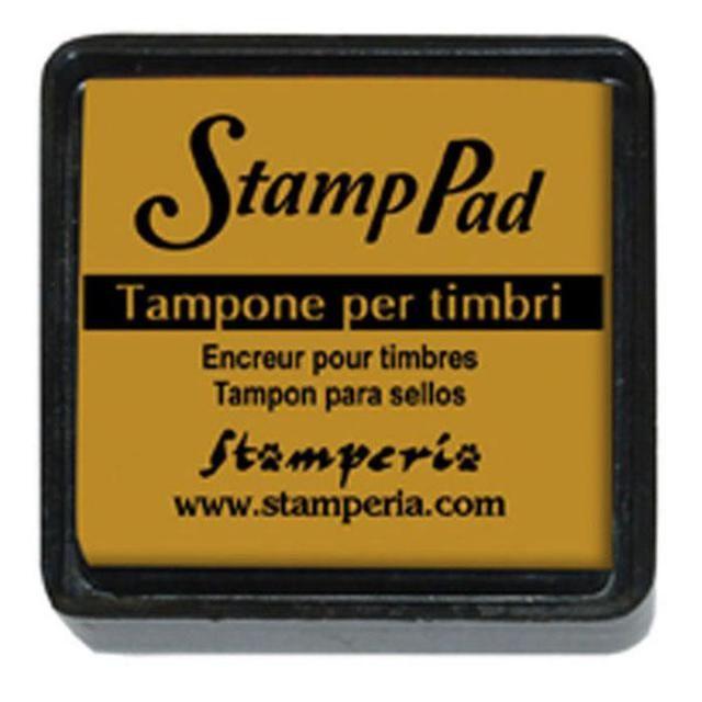 Small pigment pad mustard yellow