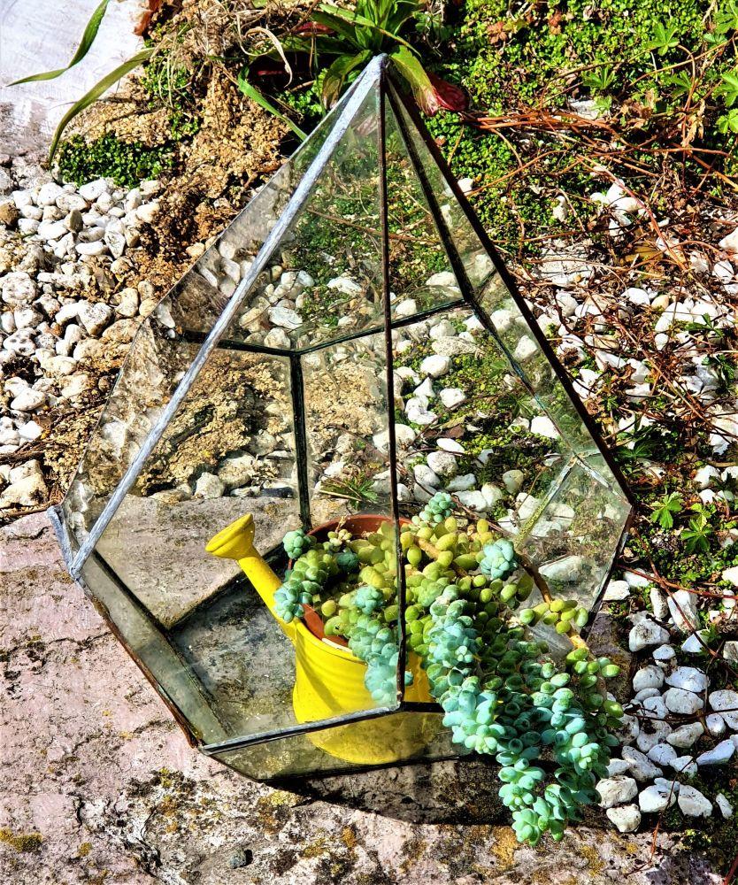 Glass Terrarium Workshop Copper Foiling