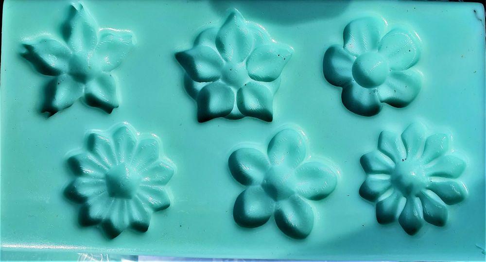 6 x Flower Mould