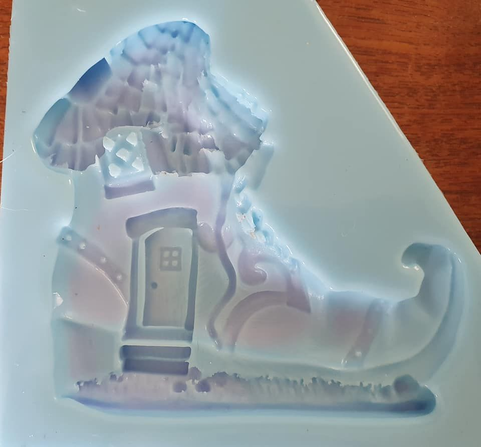 Fairy House Boot Silicone Mould