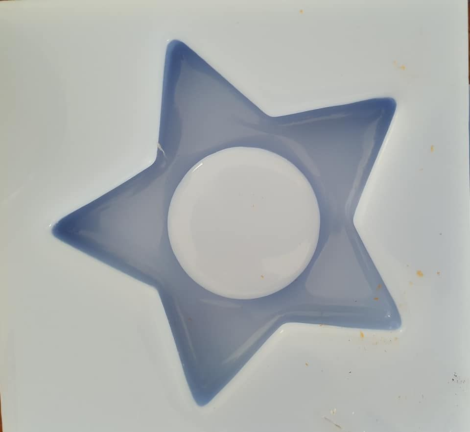 Star Tealight Holder Silicone Mould