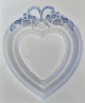 Heart Frame Silicone Mould