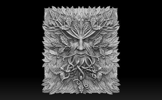 Wood Goblin Silicone Mould Medium