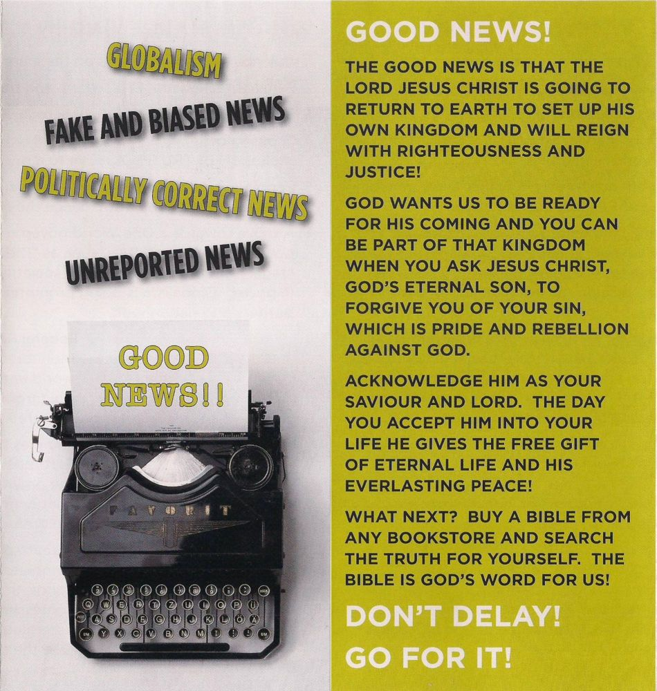 Good News Leaflet July 2020a