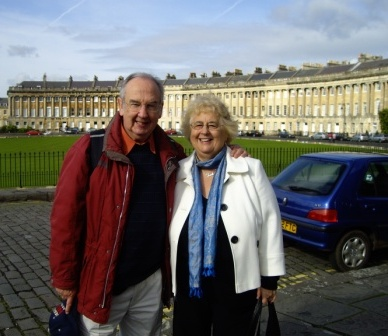james and tina celebrating 20 years of marriage in bath in october 2011