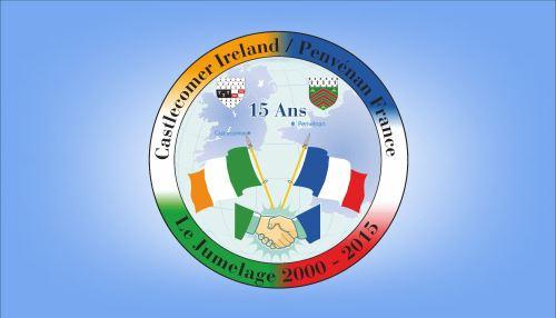 twinning towns flag