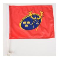 Munster Rugby Car Flag
