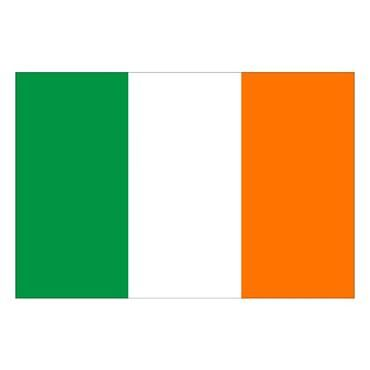 Irish Tricolour 3' x 2'(on a stick)