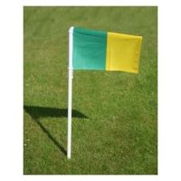 Set of Pitch Flags on Rigid Plastic Poles (26)