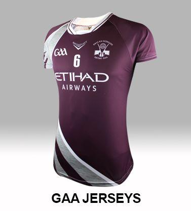 GAA jerseys