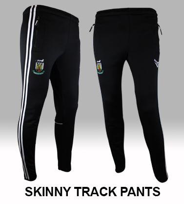 Skinny Track Pants