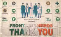 Frontline Heros Thank You Flag