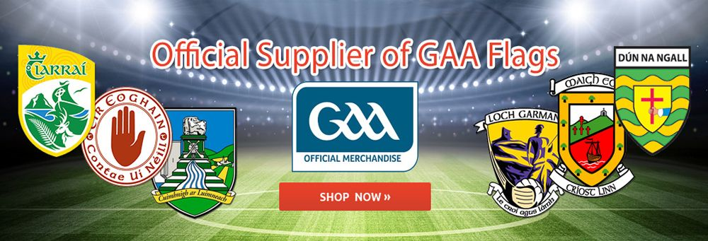 Official Supplier of GAA flags