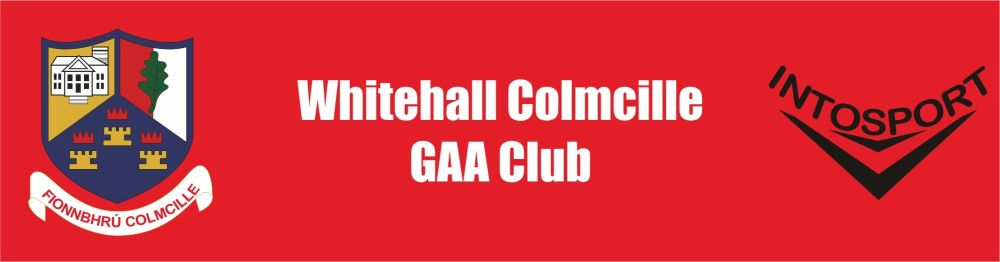 WHITEHALL COLMCILLE GAA - DUBLIN ONLINE SHOP header