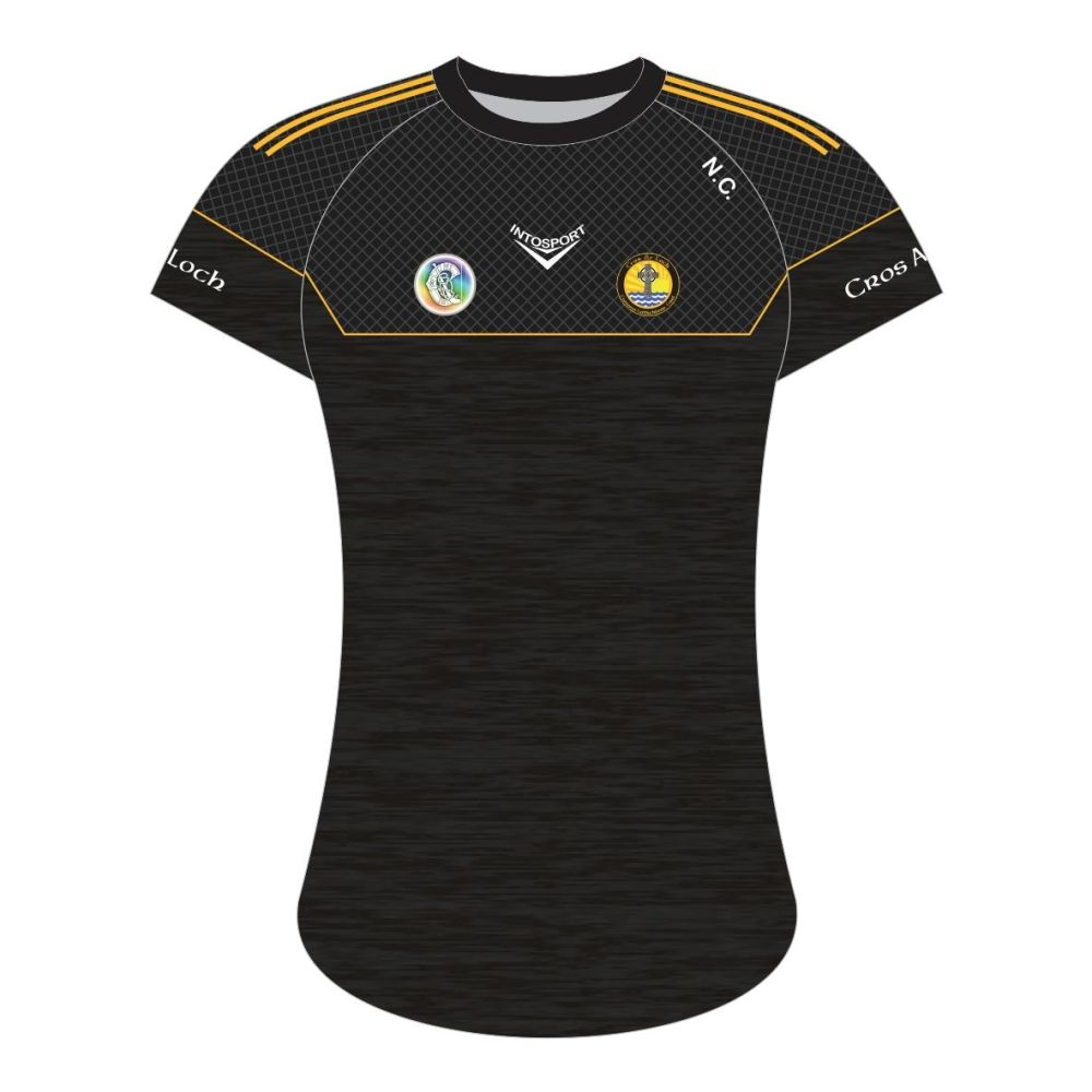 Crosserlough Camogie Tailored Fit Training Jersey