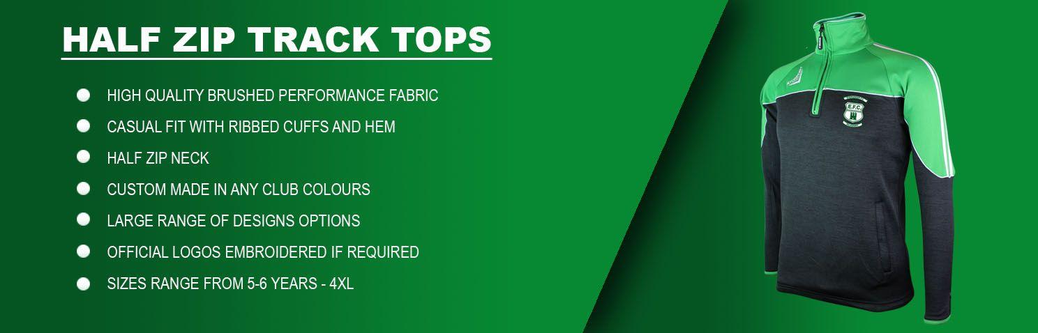 Half Zips track tops