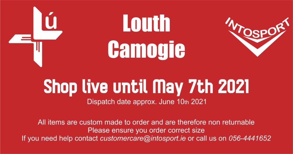 LOUTH CAMOGIE - ONLINE SHOP BIG HEADER
