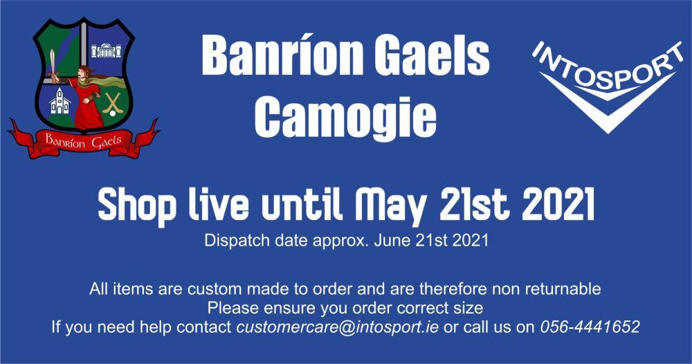 BANRION GAELS CAMOGIE - LAOIS - BIG HEADER