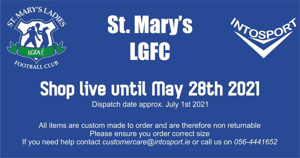 ST. MARYS LGFA - ONLINE SHOP BIG HEADER