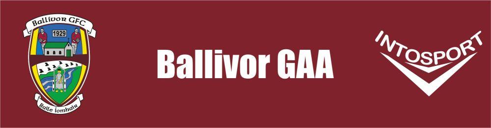 BALLIVOR GAA - ONLINE SHOP BANNER
