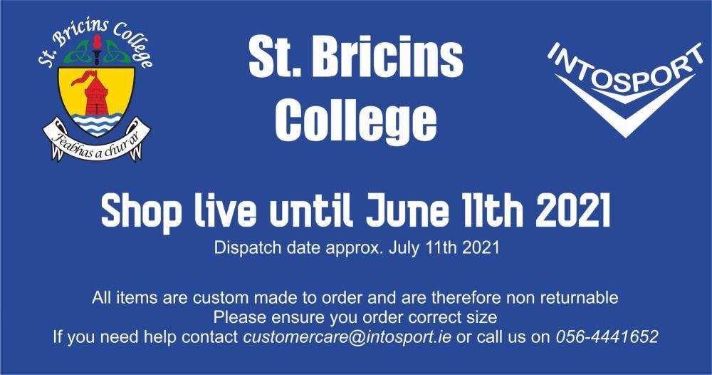ST BRICINS COLLEGE - ONLINE SHOP BIG HEADER