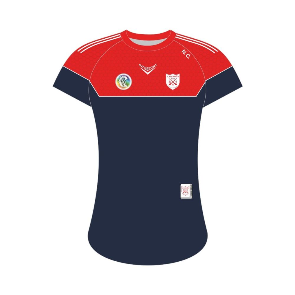 Crusheen Camogie Tailored Fit Training Jersey