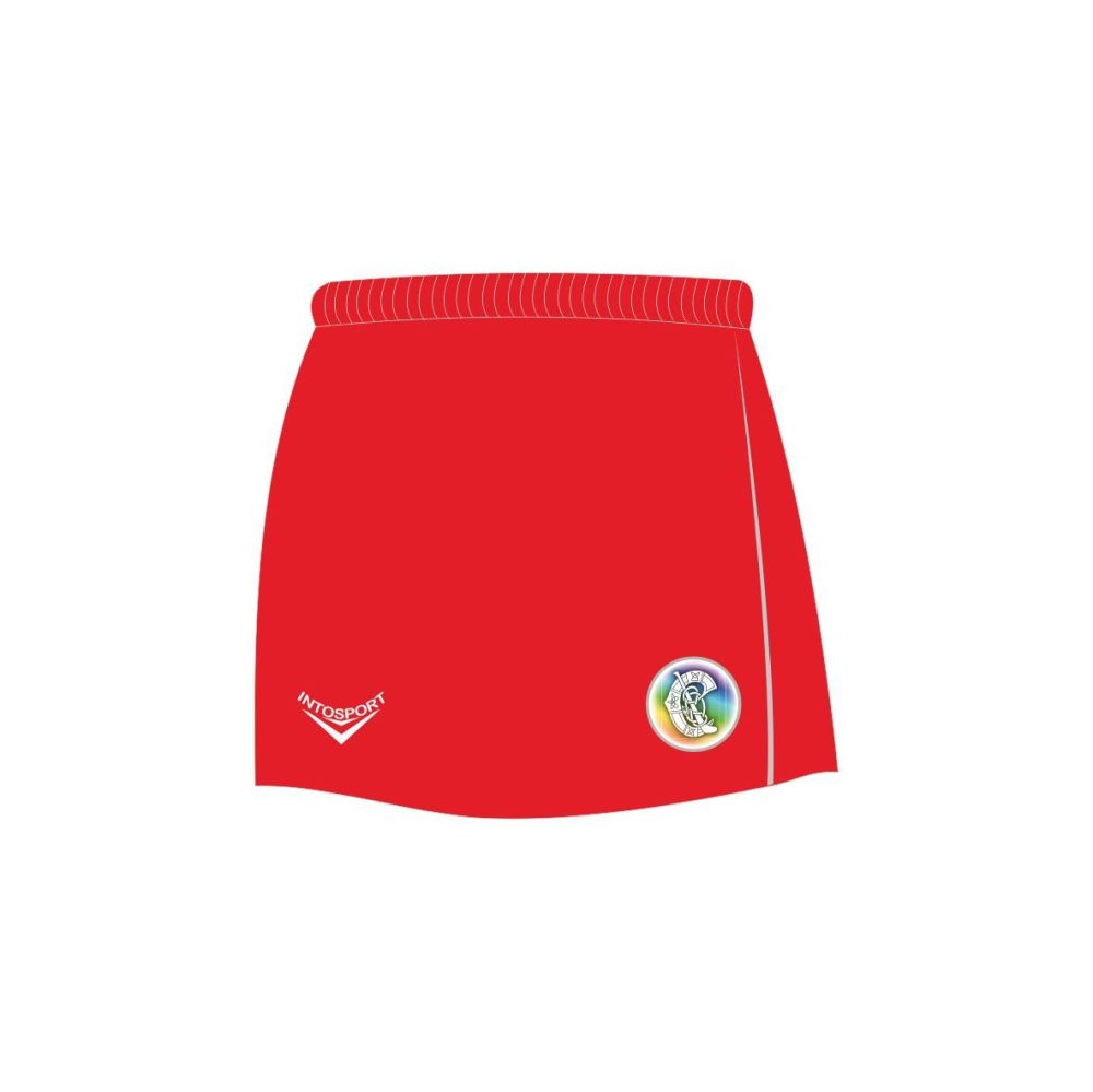 Red Camogie Skort