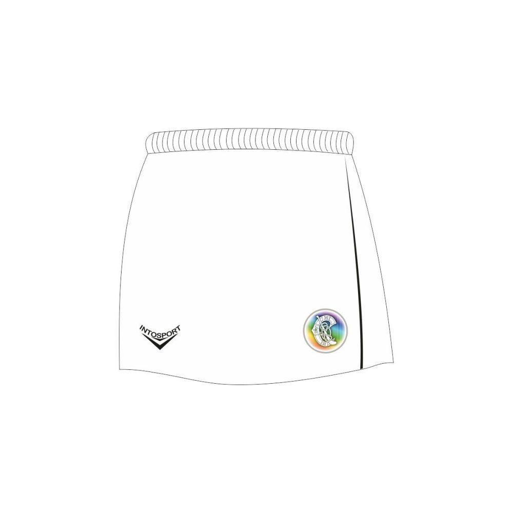 White Camogie Skort