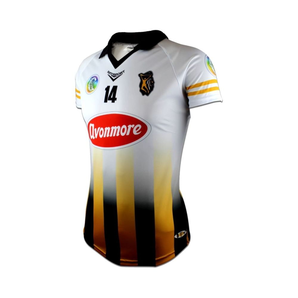 Kilkenny Camogie Adult Tailored Fit Away Jersey