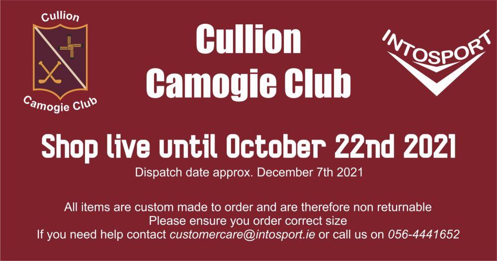 CULLION CAMOGIE - WESTMEATH - ONLINE SHOP BIG BANNER