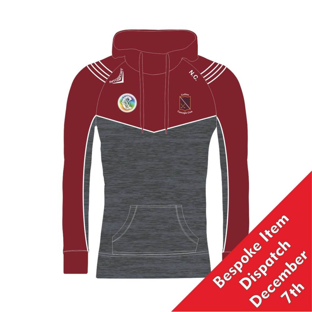 Cullion Camogie Adult High Rise Hoodie