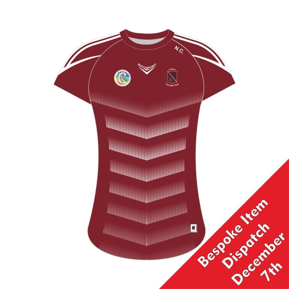 Cullion Camogie Ladies Fit Training Jersey