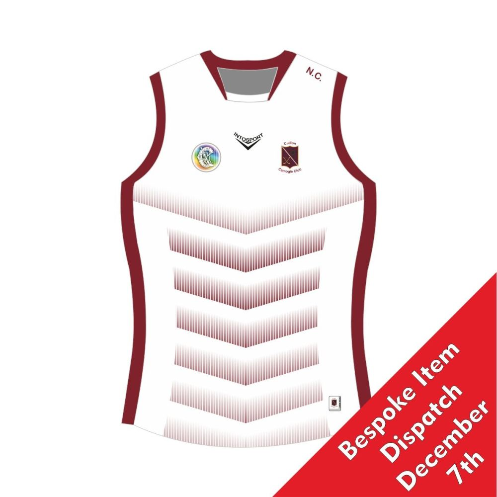 Cullion Camogie Tailored Fit Sleeveless Jersey