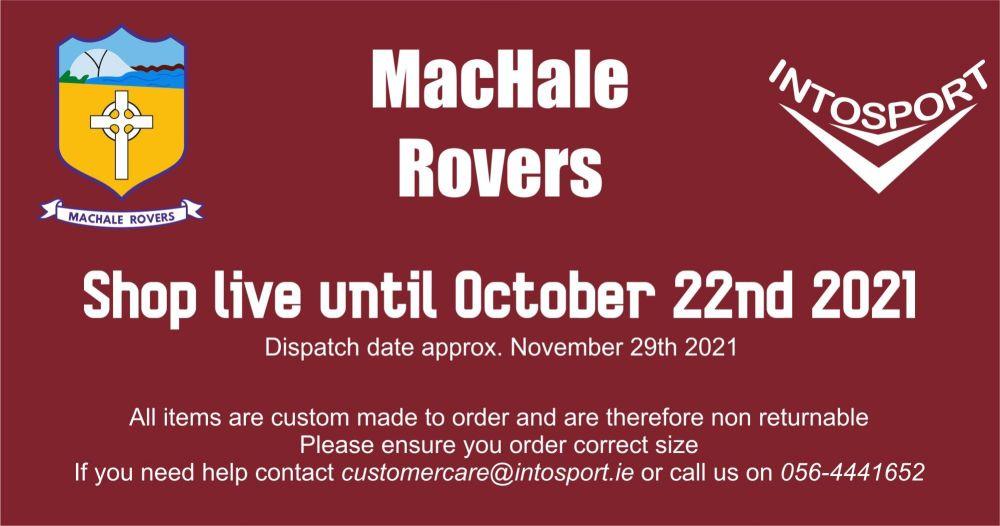 MACHALE ROVERS LGFA - ONLINE SHOP BIG HEADER