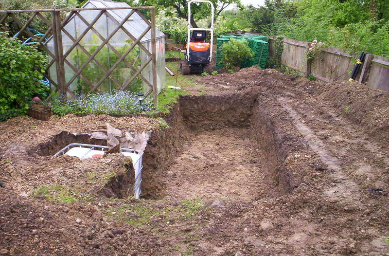 Soakaway excavation Swindon