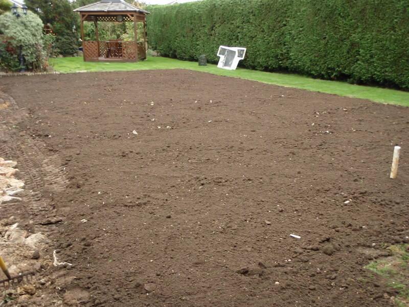 Topsoil spreading