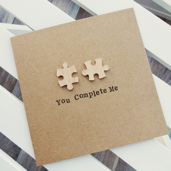 'You Complete Me' Card