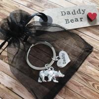 Daddy Bear keyring