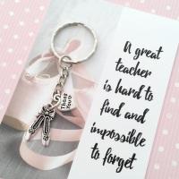 Dance Teacher Thank You Gift