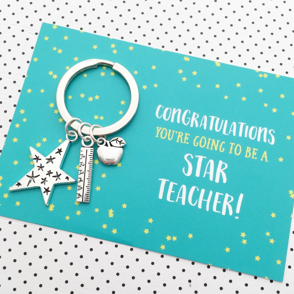 New teacher congratulations good luck gift