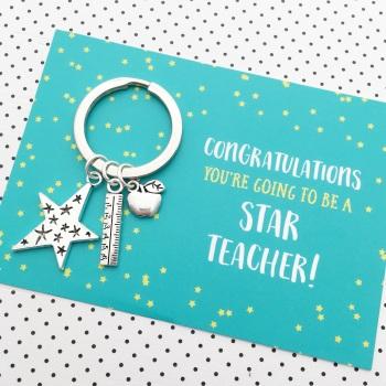 New teacher congratulations good luck gift