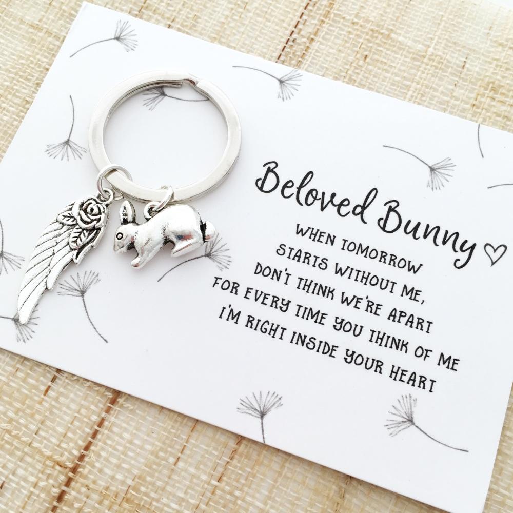 In memory of beloved rabbit